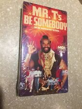 Mr. T's Be Somebody Or Be Somebody's Fool (VHS) RARE and OUT OF PRINT (OOP)