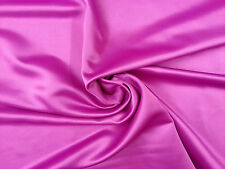 CERISE PINK BRIDAL DUCHESS SATIN DRESSMAKING FABRIC DRESS BRIDE BRIDESMAID 5381