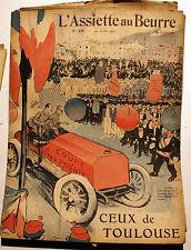 L'ASSIETTE AU BEURRE/ANNEE 1905 / N°229/CEUX DE TOULOUSE/LISTE DES ILLUSTRATEURS