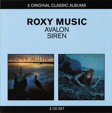 Roxy Music - Avalon / Siren (2011)  2CD  NEW/SEALED  SPEEDYPOST