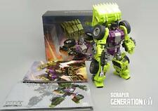 New Generation Toy Transformers GT-1A Scraper Devastator Action Figure In Stock