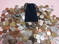OVER 10 oz. Of Old And New FOREIGN/WORLD COINS In Gift Bag!