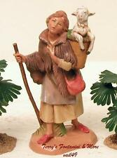 "FONTANINI DEPOSE ITALY 5"" MIRIAM w/LAMB NATIVITY VILLAGE FIGURE 72572 NIB"
