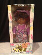 RARE new AA KID SISTER DOLL ~ 1993 A Best Friend BLACK w/PURPLE OUTFIT Playskool