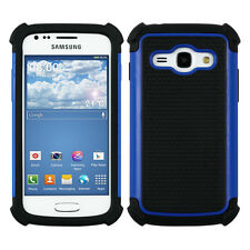 HYBRID CASE FOR SAMSUNG GALAXY ACE 3 S7270 / S7275 BLACK TPU OUTDOOR HARD SHELL