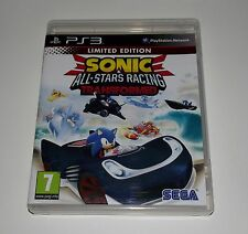 Sonic all-stars racing Transformed Game for Sony PS3 Playstation 3