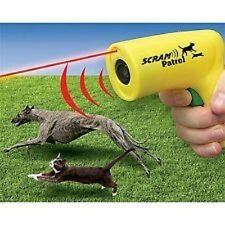 SCRAM PATROL SONIC ANIMAL CHASER - SCARE DOGS & CATS AWAY!