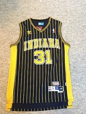 Hardwood Classics Reggie Miller #31 Indiana Pacers Throwback Jersey Size Large
