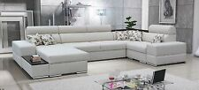 Corner Sofa Bed Alberto Fabric or Faux Leather,Left or Right Hand