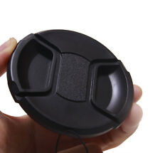 62mm Center Pinch Snap on Front Cap for ALL canon nikon sony Lens