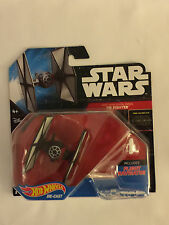 Star Wars FIRST ORDER TIE FIGHTER Die-Cast Hot Wheels Ship - Mint in Package