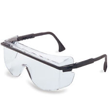 Uvex S2500C-01 Astro 3001 Safety Glasses Worn Over Prescription Glasses