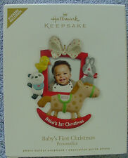 2012 HALLMARK ORNAMENT BABY'S FIRST CHRISTMAS PHOTO HOLDER
