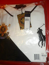NWT Polo Ralph Lauren Custom Fit  Big Pony & Blackwatch Crest Shirt  Size LARGE