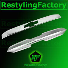15-16 Chevy Suburban Chrome Upper+Lower Liftgate Tailgate Handle Cover 2016 2015