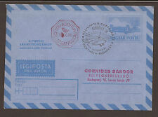 Hungary 1974. Airmail envelope. Sim 63. Special Helicopter post cancellation
