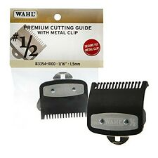 "Wahl Premium Cutting Guide With Metal Clip 1/2,1/16"", 1.5mm #3354-1000 USA Made"