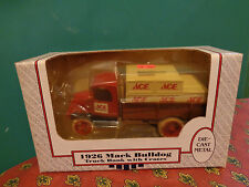 ACE HARDWARE 1926 MACK BULLDOG TRUCK #96900 Metal Coin Bank #9047-10EO ERTL MIB