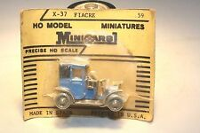 1907 Renault Fiacre HO Scale Anguplas Mini Cars Spain Mint in Package