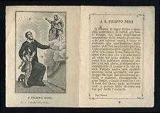 santino incisione 1800 S.FILIPPO NERI
