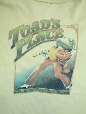Vintage Toad's Place New Haven Connecticut Night Club Strip Sexy Girls T Shirt M