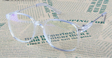 Oversized Morden Transparent Eyeglass Frame Glasses Full Women Men Clear lenses