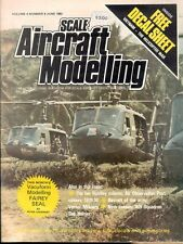 SCALE AIRCRAFT MODELLING JUN 82 VIETNAM ARMY BELL UH-1_WERNER MOLDERS_FRS No.809