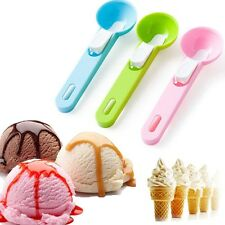 New Plastic 6cm Scoop for Ice Cream Mash Potato Food Spoon Kitchen Spoon Ball