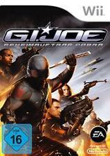 Nintendo Wii gi joe G.I. secreto pedido cobra * impecable
