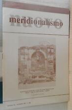 NUOVO MERIDIONALISMO 1985 Napoli antica Avellino Victor Hugo Mancini De Marsico