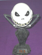 BIG HEAD NIGHTMARE BEFORE CHRISTMAS JACK SKELLINGTON WOBBLE HEAD KNOCKER STATUE