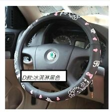New Hello Kitty Car Steering Wheel Cover D