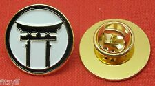Shinto Torii Lapel Hat Cap Tie Pin Badge Japan Japanese Symbol Brooch