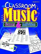 Classroom Music Games and Activities (2014, Paperback)