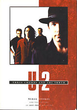 U2  Three Chords And The Truth  large paperback book