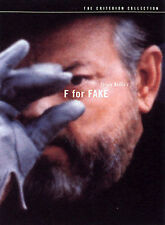 F FOR FAKE CRITERION COLLECTION 2 DVD SET ORSON WELLES Oja Kodar