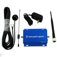 CDMA 850MHz Cell Phone Signal Repeater Booster Amplifier Antenna Kit home use