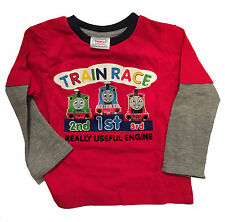 THOMAS THE TANK ENGINE & FRIENDS 2 PIECE JOG SET OUTFIT 6-9 MONTHS t-shirt