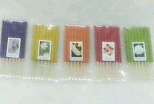 5 SCENTS 40 STICKS MIX AROMA MINI INCENSE STICKS HERB & FRAGRANCE(11), LENGTH 3""