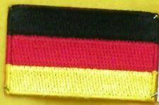 TOPPA PATCH FLAG GERMANIA CM 6,5 x 4 BANDIERA TEDESCA GERMANIAN GERMANY