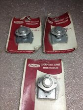 (RR23-4) LOT OF 3 DAYTON SNAP DISC LIMIT THERMOSTATS