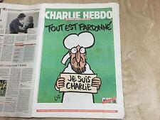 CHARLIE HEBDO N°1178  del 15/01/2015 Allegato Al Fatto Quotidiano