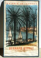 Bernard Buffet French Galerie 65 - Cannes Original Color Lithograph Poster