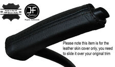 BLACK STITCH HANDBRAKE HANDLE LEATHER COVER FITS FORD GRAND C MAX C-MAX 11-15