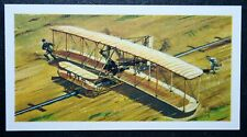 Wright Brothers  FLYER    Illustrated Card