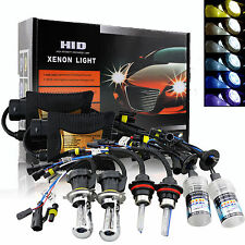 55W HID Kit Conversion Xénon Hi-Low Ampoules Feux H4 H13 9003 9004/7 6000K 8000K