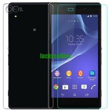 Front + Back Temper Tempered Glass Film Screen Protector Guard Sony Xperia Z2