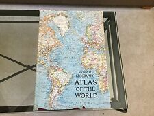 1963 NATIONAL GEOGRAPHIC ATLAS OF THE WORLD w/ Dust Jacket