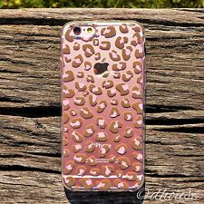 MADE IN JAPAN Soft Clear TPU Case Leopard pattern for iPhone 6 & iPhone 6s