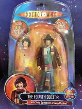 DOCTOR WHO CLASSIC FIGURE THE 4th FOURTH DOCTOR with ALT. HEAD  K1 ROBOT PART